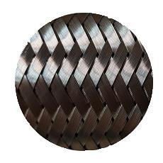 гофра глушителя трехслойная внешний слой